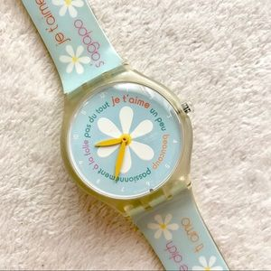 Swatch Watch Daisy Love Watch